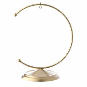 Palline di Natale: Gancio in metallo gold per pallina 100 mm