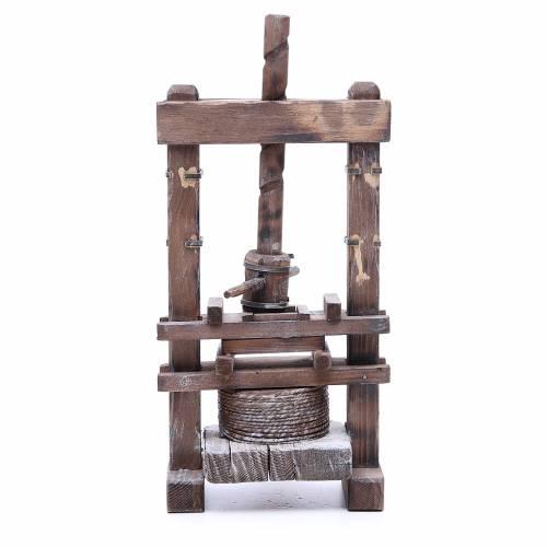Garlic press for Neapolitan Nativity, 24cm s3