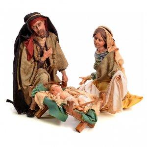 Krippenfiguren von Angela Tripi: Geburt Tripi Angela 30 cm gebrannter Ton
