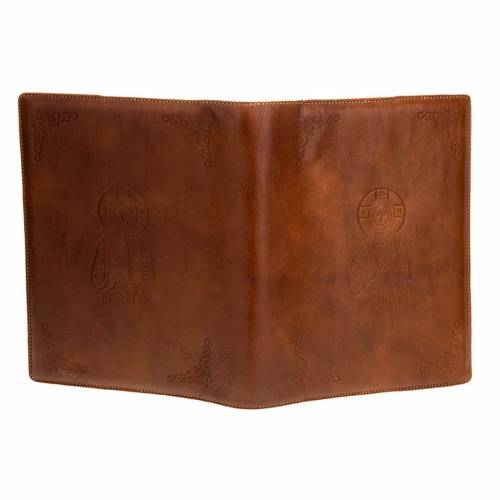 Genuine leather slipcase for Lectionary with Pantocrator s3