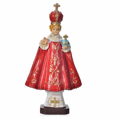 Gesù Bambino di Praga 16 cm materiale infrangibile s1