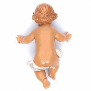 Gesù Bambino e culla presepe Fontanini 45 cm s3