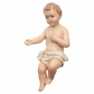 Presepe Moranduzzo: Gesù bambino resina Moranduzzo 20 cm