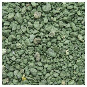 Muschio, licheni, piante, pavimentazioni: Ghiaia verde 500 gr presepe