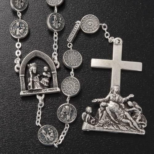 Ghirelli rosary beads, Notre Dame de Paris Pietà 10mm s2