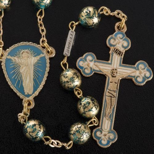 Ghirelli rosary Risen Christ 8 mm s2