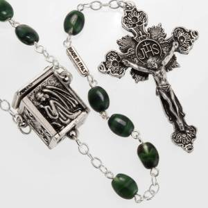 Ghirelli outlet rosary beads: Ghirelli rosary with cubic centerpiece