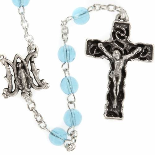 Ghirelli rosary with Marian symbol 6 mm s1