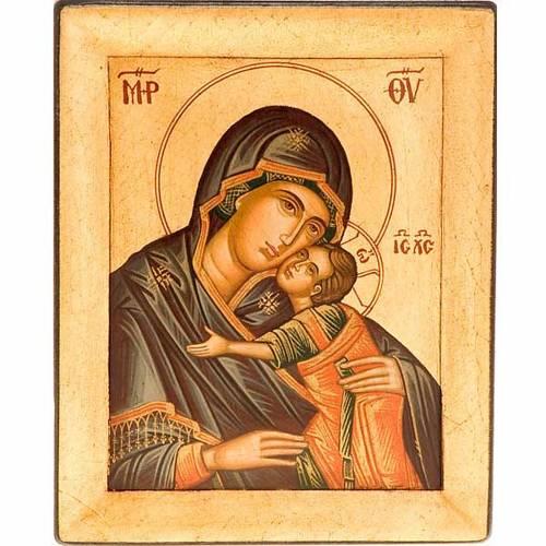 Glikofilussa Virgin icon, Greece 1