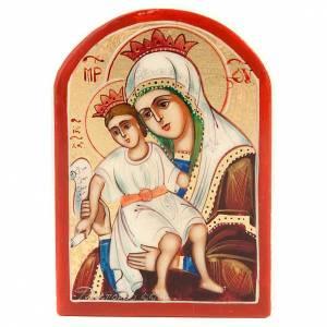 Glikofilussa Virgin miniature icon s1