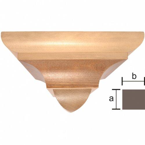 Wandkonsole Holz gotische wandkonsole aus grödnertal holz patiniert verfauf