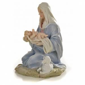 Statuen aus Harz und PVC: Gottesmutter mit Kind 15cm Harz