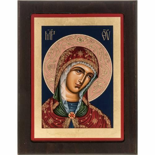 Greek silkscreen print, Our Lady s1