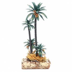 Group of palms for nativity scene in PVC, 20cm s1
