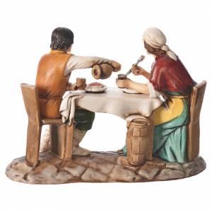 Gruppo uomo e donna al tavolo 10 cm Moranduzzo s2