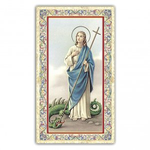 Holy cards: Holy card, Saint Martha, Prayer ITA, 10x5 cm