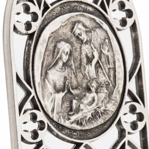 Holy Family decorative object 7x4cm s5