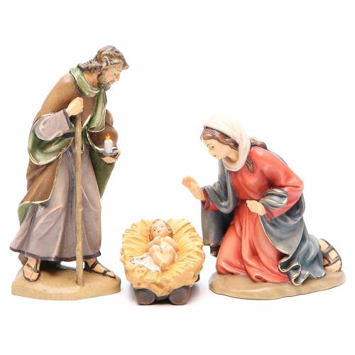 Holy Family, Orient model in painted Valgardena wood s1