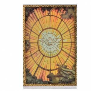 Holy Spirit print on wood s1