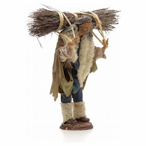Homme au fagot crèche Napolitaine 30 cm s4