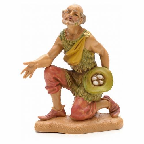 Homme avec oeufs crèche Fontanini 12 cm s1