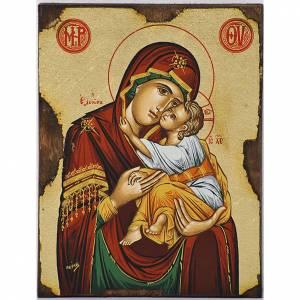 Icona Vergine della Tenerezza Eleousa greca s1