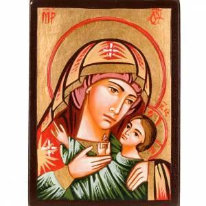Icona Romania Madre di Dio Kasperov dipinta s1