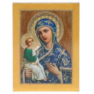 Icone Russia dipinte: Icona Russa Jerusalemskaya 20x15 cm