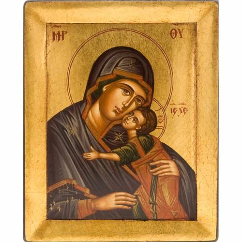 Icona greca Vergine Glikofilussa s1