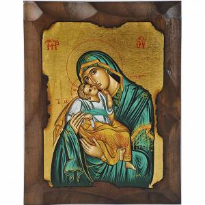 Icona Vergine Glikofilussa verde s1