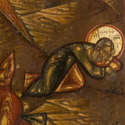 Icône ancienne russe, Transfiguration sur le mont Tabor s4