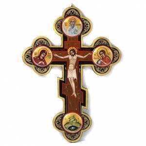 Icône, croix, russe s1