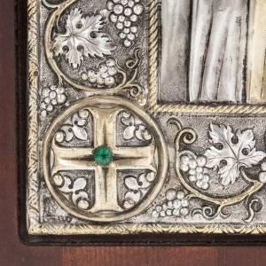 Icône Grèce Vierge Oumilénie riza argent 950 s4