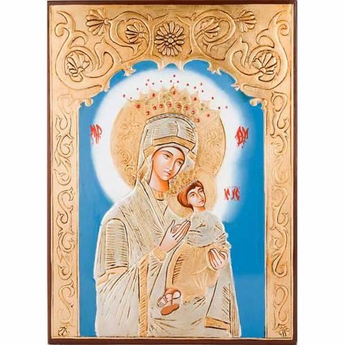 Icône mère de Dieu de la passion s1
