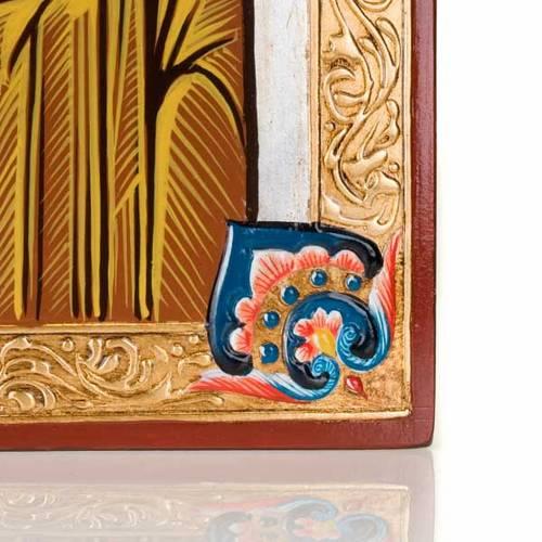 Icône peinte à la main,  40x60 cm, vierge de Kazan s4