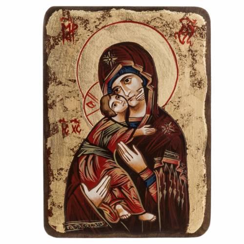 Icône Sainte Vierge de Vladimir Roumanie s1