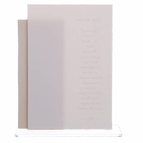Idea regalo Cresima quadretto stampa h. 17 cm s2
