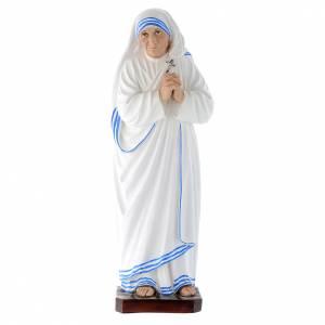 Imágenes de Resina y PVC: Imagen Santa Madre Teresa de Calcuta 40 cm fibra de vidrio