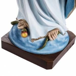 Immaculate statue in fiberglass, 100 cm s4