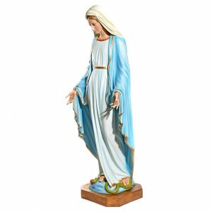 Immaculate Virgin Mary statue with crystal eyes 145cm in fibergl s3