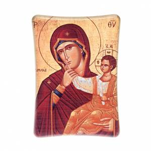 Quadri, stampe, codici miniati: Madonna con Bimbo da tavolo