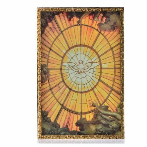 Impression sur bois Saint Esprit s1