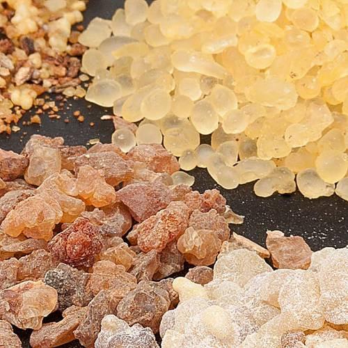 Inciensos perfumados Olíbano muestras s1