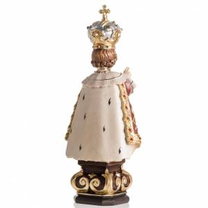 Infant of Prague wooden statue painted s4