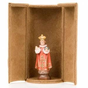 Jesus and saints bijoux statue with niche s4