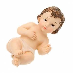 Statues Enfant Jésus: Jésus enfant, résine cm 8
