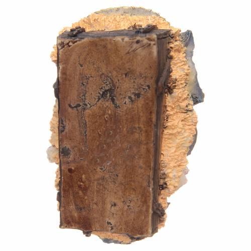 Jesús Niño en cuna resina 15 cm s3
