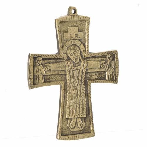 Jesus Priest and King Crucifix Bethlehem Monks 14x10 s2