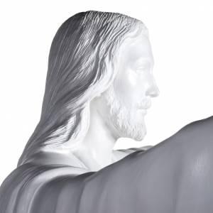 Jésus rédempteur 200 cm fibre de verre s7