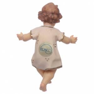 Christkindstatuen: Jesuskind 7 cm Ahornholz